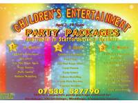 Complete Children's party packages