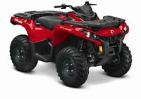 2015 Can-Am Outlander 650 $26.09/wk (120 months @ 7.99%)