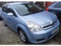 55REG Toyota Corolla Verso VVTI 1.8 T3 Petrol 5dr -7SEATER/ONLY 86000 MILES/MOT31/08/2107,HPI CLEAR