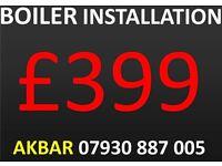 £399 combi boiler installation,replacement LONDON,hob,cooker,MEGAFLO INSTALLATION,back boiler remvd