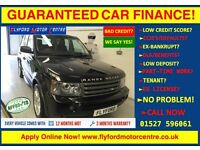 2009 LAND ROVER RANGE ROVER SP HSE TDV6 A BLACK - GUARANTEED CAR FINANCE CREDIT - FROM £99 P/WEEK