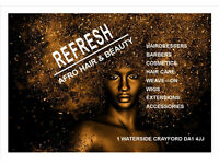 Afro Hairdressers & Barbers Wanted ASAP in the Crayford/Dartford Area