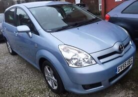 55REG Toyota Corolla Verso VVTI 1.8 T3 Petrol 5dr -7SEATER/ONLY 86000 MILES,HPI CLEAR