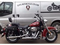 AMAZING CONDITION HARLEY DAVIDSON FLSTCI HERITAGE SOFTAIL CLASSIC, FSH, EXTRAS, LOW MILES