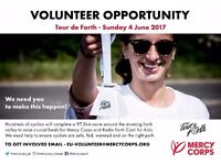 Tour de Forth 2017 Volunteers Required - One-Off-Event Sunday 4th June