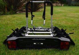 Mont Blanc Automaxi Allroad 4 – 4 Bike Towball Cycle Carrier Tow Bar Bike Rack (Fits 4 bikes)