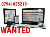 WANTED * APPLE MACBOOK PRO AIR RETINA IPAD MINI AIR 1 2 3 4 IMAC WATCH LAPTOP NEW USED