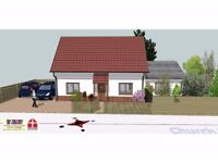 BUILDING PLOT IN FRESSINGFIELD IP21 5PA WITH OUTLINE PP FOR 3 BED ECO HOUSE