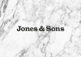 Head Catering Driver/Delivery Logistics Manger at Jones & Sons