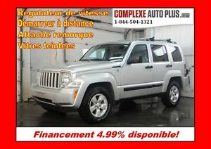 2012 Jeep Liberty Sport 4x4 V6 *Rack de toit, Hitch