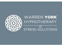 Hypnotherapy with registered and highly qualified hypnotherapist Warren York. Free Consultations.
