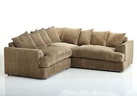Full Cream Corner Sofa--Order Now!