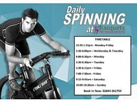 Daily Spinning Classes in Thame