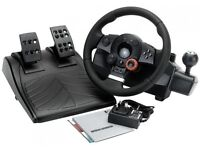 Logitech Driving force GT wheel for PC and PS3
