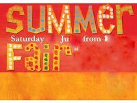 Cullercoats community centre summer fair FANTASTIC raffle SUPER tombola and plenty home cooking