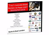 Qualified Mobile Mechanic with 25 years experience can save you Time & Money
