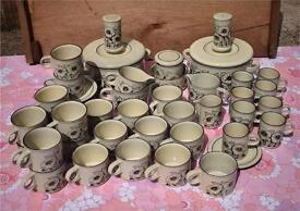 Hornsea Cornrose part Dinner & Tea / Coffee Service JOB LOT retro vintage