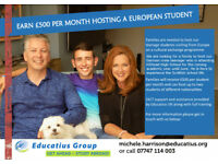HOST FAMILY WANTED in Hillhead/Westend/Partick/Kelvinside (student is going to Hillhead High School)