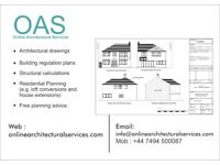 Planning Application from £295 Only! /Architectural services/Drawings/Architects/Plan/Loft/Extension