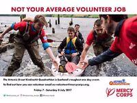Volunteer at The Artemis Great Kindrochit Quadrathlon - not your average volunteer job!