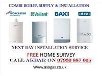 £399 combi boiler installation,replacement,MEGAFLO,COOKER,HOB,plumbing heating,GAS LEAK,BURST PIPE