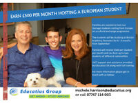 HOST FAMILY WANTED in Bearsden/Milngavie/Torrence/Bishopbriggs (student is going to Boclair Academy)