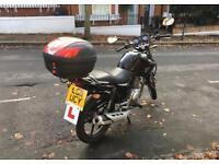 Yamaha YBR 125 - Low mileage (6800 miles), 1 year MOT