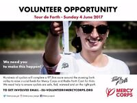 Tour de Forth Volunteer Marshals Required – One Off Event Sunday 4th June
