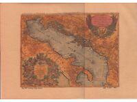 Old map entitled 'Le Golfe de Venise'