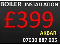 boiler installation, MEGAFLO, Underfloor HEATING, back boiler & CYLINDERS REMOVED, GAS LEAK REPAIR