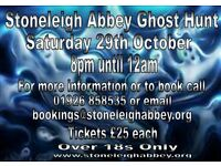 Stoneleigh Abbey Ghost Hunt