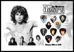 Jim Morrison The Doors plectrumdisplay