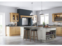 Wakefield Light Oak Kitchen doors, accessories and cabinets From Kitchen Stori