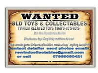 Cash paid for old/collectors toys