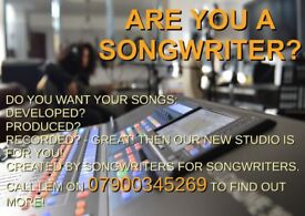ARE YOU A SONGWRITER?