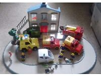 Fireman Sam Vehicles and House.