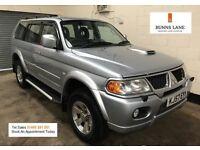 2007 57 Mitsubishi Shogun Sport Trojan 2.5 Diesel *Leather* Side Steps Air Con 3 Month Warranty
