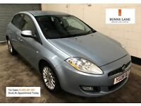 2008 Fiat Bravo 1.4 Dynamic 1 Female Owner Bluetooth Air Con Cruise Low Milage 3 Month Warranty
