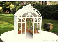 DOLLS HOUSE GREENHOUSES FOR COLLECTORS