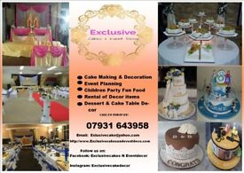 Wedding Cake,Wedding & Events decoration, Flower wall , 4ft LOVE letters & Dessert Table decor