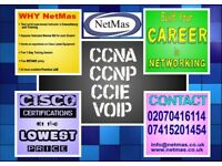 CCNA / CCNP on campus or online training sessions