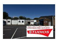 Workshop / storage / studio units with friendly community & parking