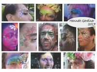 Facepainter & Glitter Artist (Professional, Reliable, Flexible)