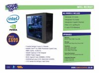 Born To Play Gaming PC - Intel Recruit