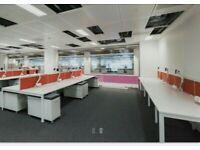 1 Herman Miller 8 pod/bench office desks £90 each desk