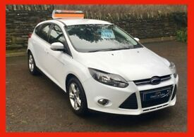 £30 wk ford FOCUS zetec 1.6 petrol MANUAL 2012 (12) bluetooth ALLOYS