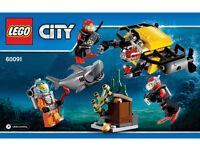 Lego city deep sea starter set