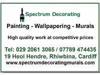 Painter and decorator, Rhiwbina