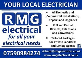 RMG ELECTRICAL - 07590984274