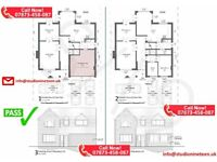 ARCHITECTURAL DRAWINGS, PLANNING APPLICATION, ARCHITECT - CAD PLANS - DESIGN & BUILD.